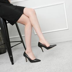 [쿠루] 여성 9cm 파스텔 스텔레토 펌프스힐 G7039