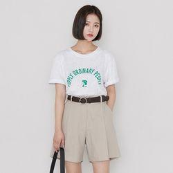[로코식스] 피플 레터링 티셔츠