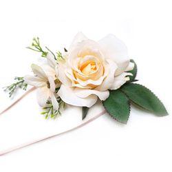 [웨딩파티용품] 에일린 꽃팔찌 (1ea)
