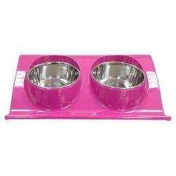 슈퍼 더블 드롭오프 보울(s)핑크