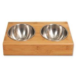 수퍼펫 대나무 원목 경사 식탁