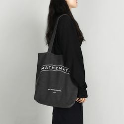 Mill C4 shoulder Bag 워시드 블랙