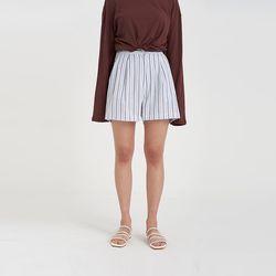 stripe short banding pants (2colors)