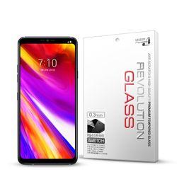 (2매) 레볼루션글라스 0.3T 강화유리필름 LG G7 ThinQ