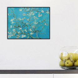 꽃피는 아몬드 나무가지 25.4x20.3cm