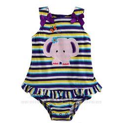 아기 코끼리 바이올렛 바디수트(0-18개월) 203579