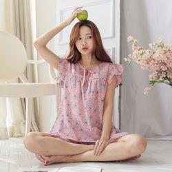 [무료배송] 쁘띠쁘랑트로피칼 민소매 여성잠옷