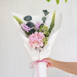 프레쉬핑크 수국 꽃다발