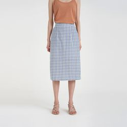 gingham check skirt (3colors)