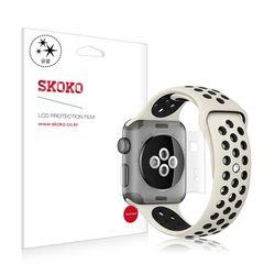 스코코 애플워치3 LTE 42mm 유광전신 외부보호필름2매