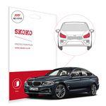 스코코 BMW3 GT 차량용 PPF 엠블럼 보호필름 2매