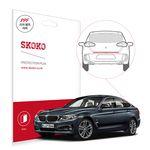 스코코 BMW3 GT 차량용 PPF 리어 범퍼 어퍼 필름 1매