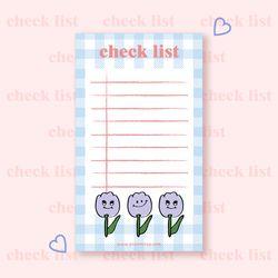 tulip check list