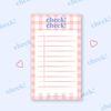 pink check check