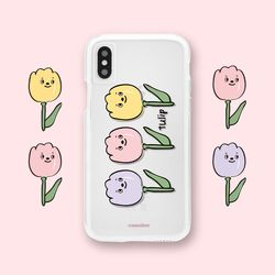 [jelly] 3 tulips case