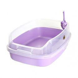 마칼 자이언트캣 평판 화장실(라벤더)