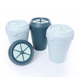 데오큐브캔4.5L 탈취항균쓰레기통(리필용필터2개추가)