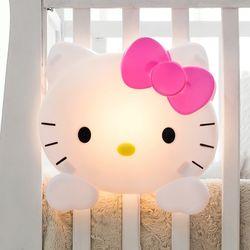 헬로키티 LED 키즈 벽등 (밝기조절USB전원충전식)