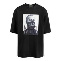 비비 프린팅 반팔 티셔츠 TSB735
