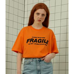 Fragile tshirt-orange