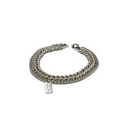 [오뜨르뒤몽드]double chain men bracelet