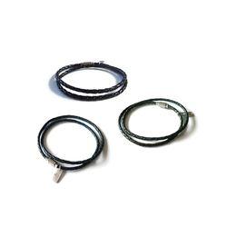 [오뜨르뒤몽드]savana lether men bracelet (3colors)