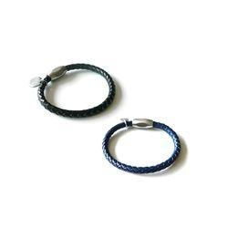 [오뜨르뒤몽드]chic leather men bracelet (2colors)