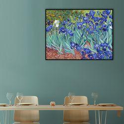 아이리스 Irises 25.4x20.3cm