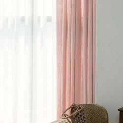 포레스트 린넨 커튼-light pink(나비주름형)