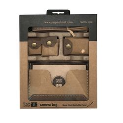 종이 디지털 카메라 - 전용파우치