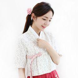 잔잔한들꽃 단저고리(핑크)