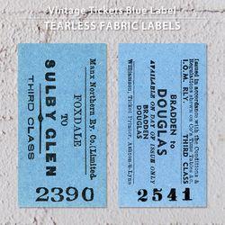 빈티지티켓 블루라벨 5EA - NO.2390 NO.2541