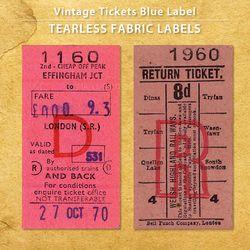 빈티지티켓 레드라벨 5EA - NO.1160  NO.1960