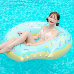 [무료배송] 스윔어바웃 대형 민트 도넛 튜브 120CM