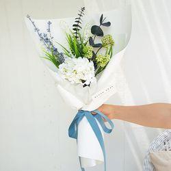 프레쉬민트 수국 꽃다발