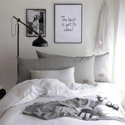 모노데이 침대 헤드쿠션(솜포함)
