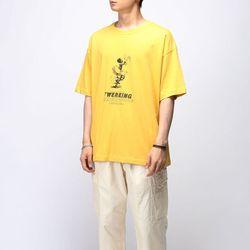 [매트블랙] 트월킹 박스 반팔 티셔츠