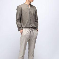 [매트블랙] 마틴 트임 라운드 셔츠
