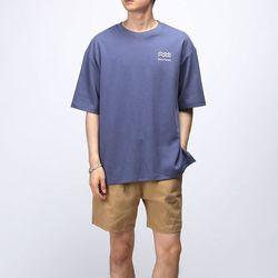 [매트블랙] 배트 나염 반팔 티셔츠