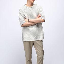 [매트블랙] 루하 단가라 반팔 티셔츠