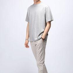[매트블랙] 썸머 워싱 반팔 티셔츠