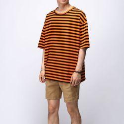[매트블랙] 캔디 단가라 반팔 티셔츠