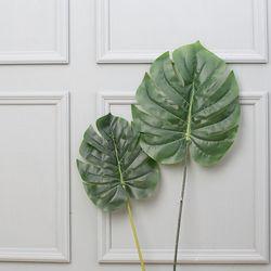 몬스테라 조화 야자수잎(소)
