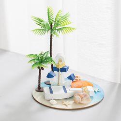 여름 닻과 배 키 작품