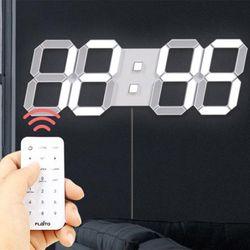 다미 대형 LED 벽걸이시계