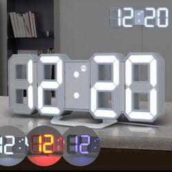 다미 벽걸이 3색 LED시계