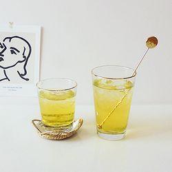 골드라인컵 골드라인 믹싱 유리컵 카페유리컵