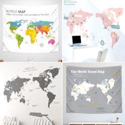 인기 세계지도 인테리어 소품 모음전
