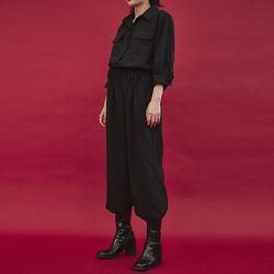 pocket jumpsuit (2color)