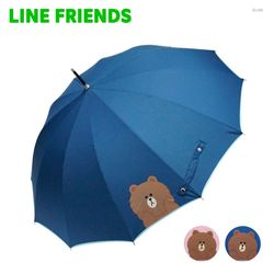 라인프렌즈 브라운 헬로 12k 장우산 HULNU10005